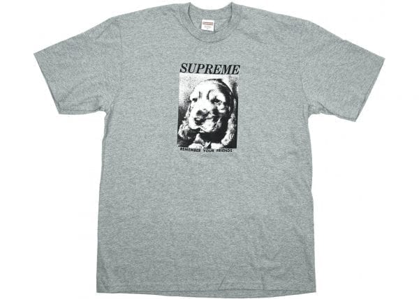 Supreme - Remember your Friends tee